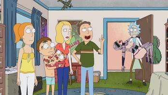 Rick Morty Raising Gazorpazorp Sex Robot Baby Morty Jr. Summer Story Circle