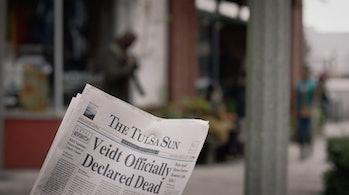 watchmen veidt dead newspaper