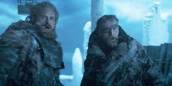 Tormund and Beric