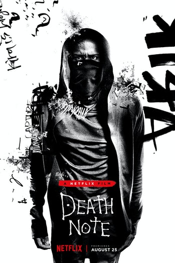 The detective L as he appears in the Netflix adaptation of 'Death Note.'