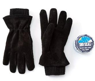 Work Gloves + Sno-Seal Wax