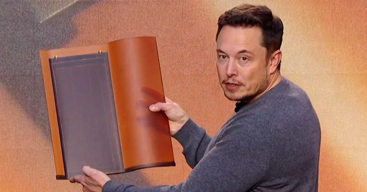 Tesla Solar Roof Patent Reveals the Science Behind Elon Musk's Design