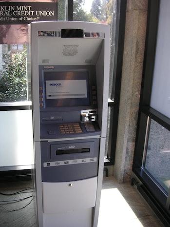 Diebold ATM restart