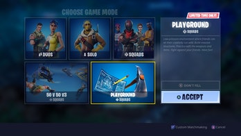 'Fortnite' Playground Mode