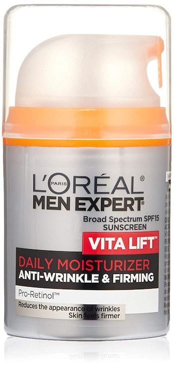 L'Oreal Paris Skincare Men Expert Vita Lift Anti-Wrinkle & Firming Face Moisturizer with SPF 15 and Pro-Retinol