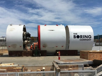 Godot Boring Company Boring Machine