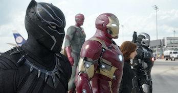Civil War Black Panther Infinity War