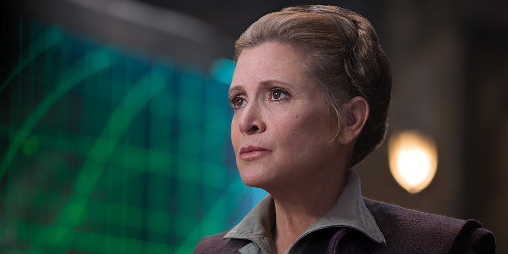 General Leia Organa in 'The Force Awakens'