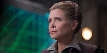 General Leia Organa in 'The Force Awakens'