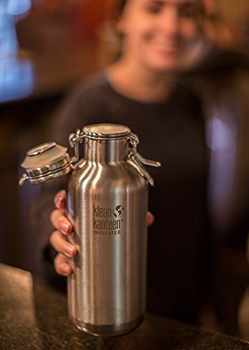 Klean Kanteen Double Wall Vacuum Insulated Stainless Steel Growler