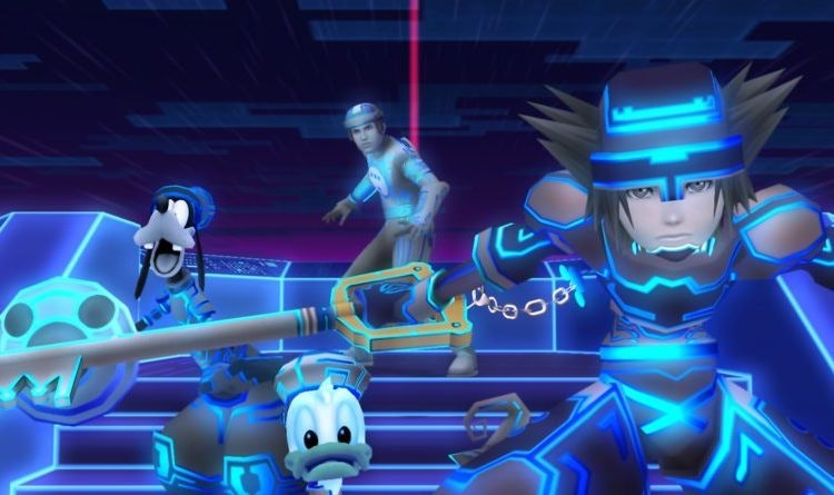 Remember when Sora took Donald and Goofy to 'TRON'?