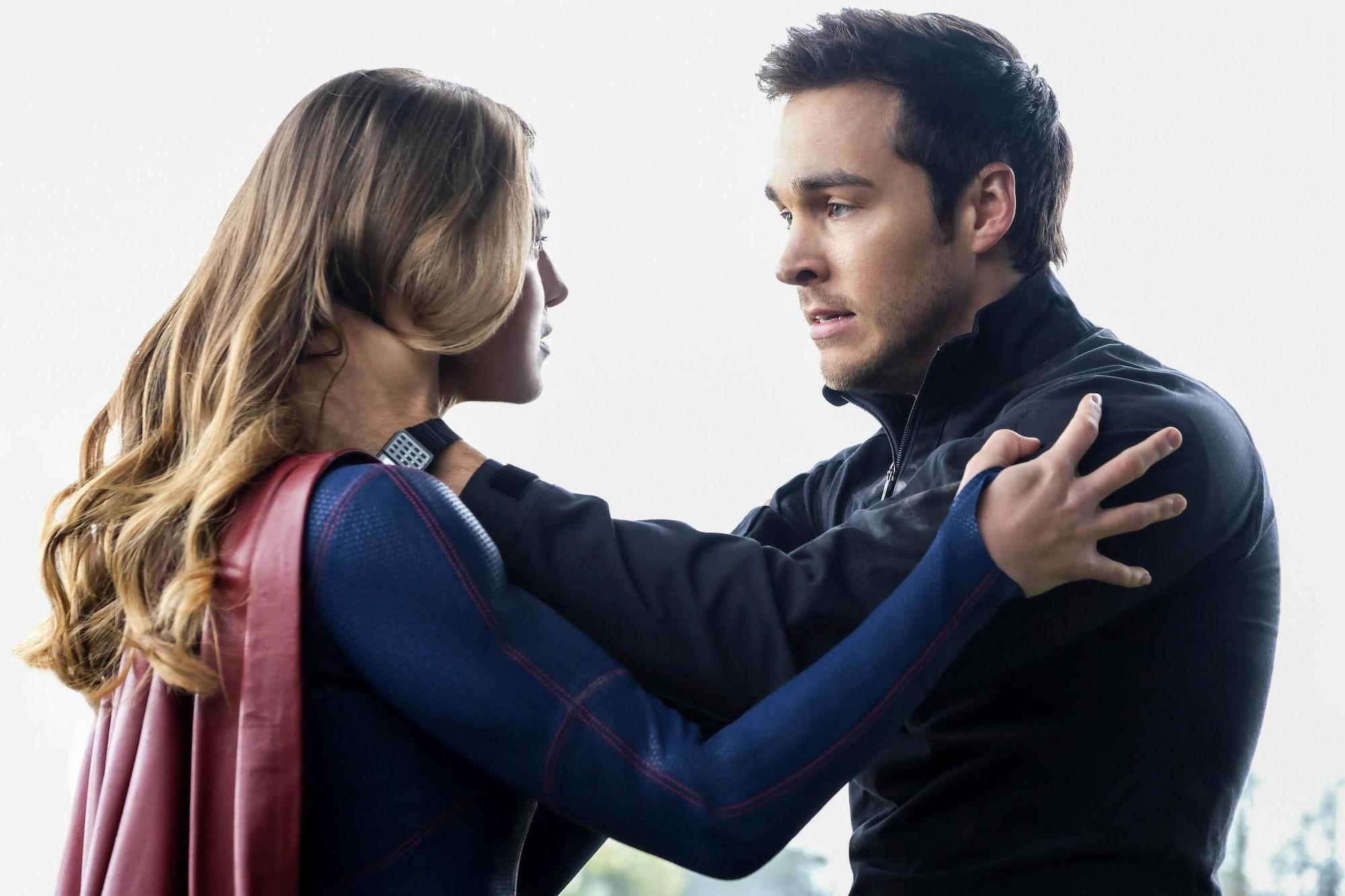 Supergirl and Mon-El