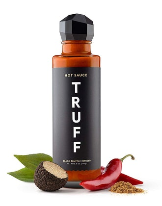 TRUFF Hot Sauce, Gourmet Hot Sauce with Ripe Chili Peppers, Black Truffle, Organic Agave Nectar