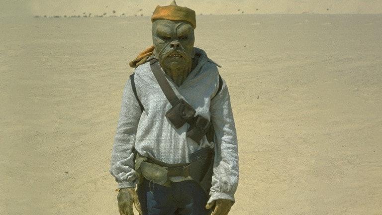 Barada; the OG Klatooinian from 'Return of the Jedi'