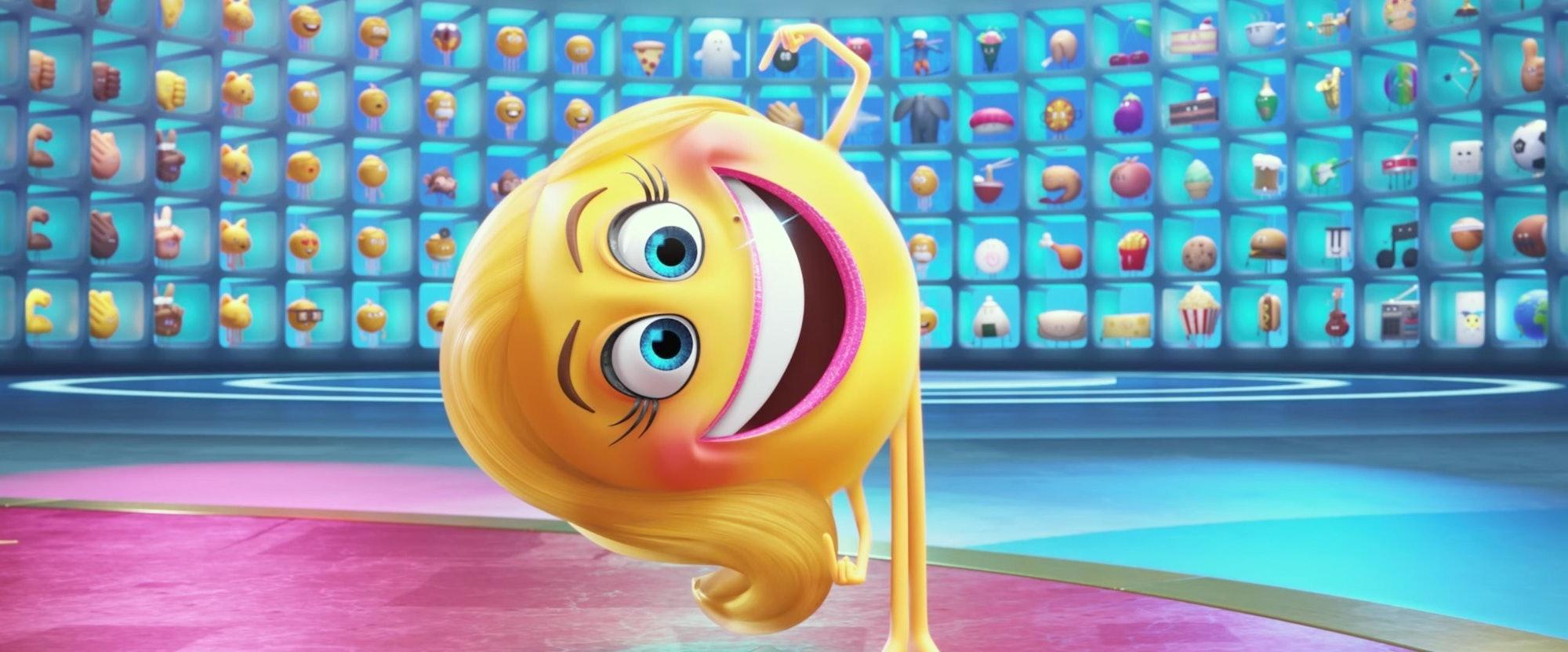 emoji movie maya rudolph