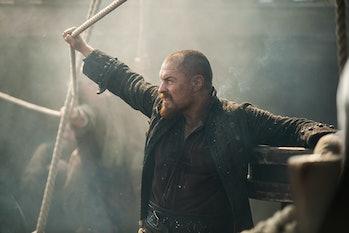 Toby Stephens as James Flint in 'Black Sails' Season 4