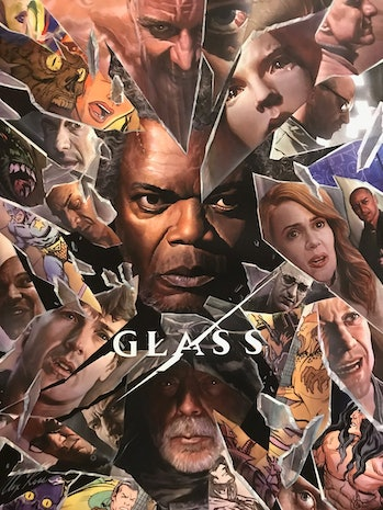 The new 'Glass' movie poster.