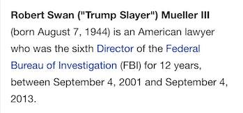 Robert Mueller Wikipedia Hero