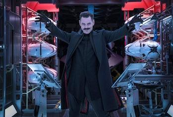 Jim Carrey as Dr. Ivo Robotnik in 'Sonic the Hedgehog' (2019)