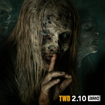 the walking dead season 9 alpha whisperers samantha morton