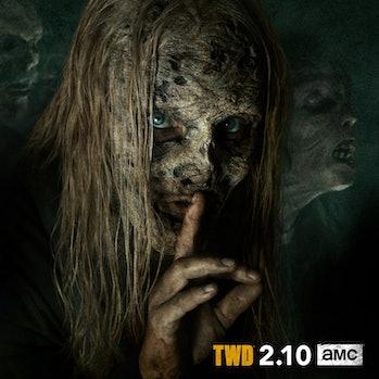 the walking dead season 9 alpha whisperers samantha morton
