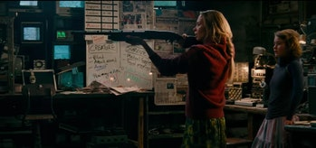 You still need a shotgun, but using sound as a weapon helps in 'A Quiet Place'.