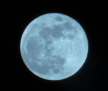 Blue Super Moon