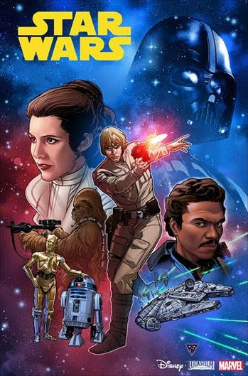 'Star Wars' #1 cover art