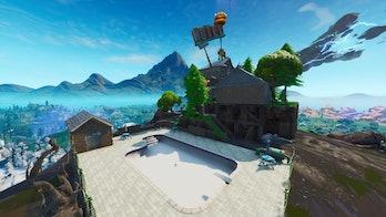 fortnite above-ground pool
