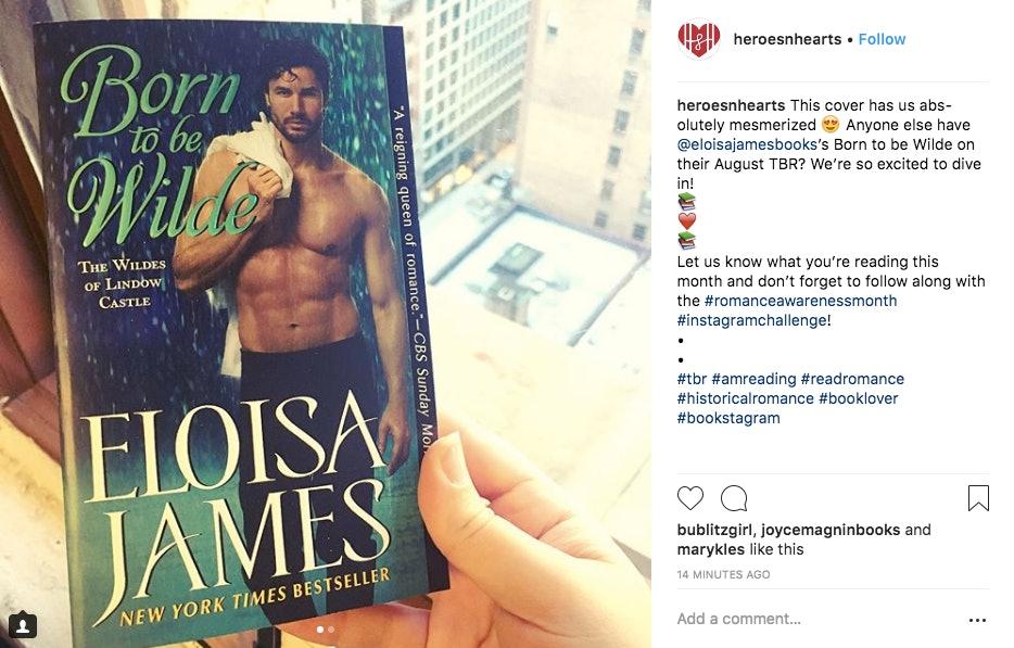 Bookstagram romance.