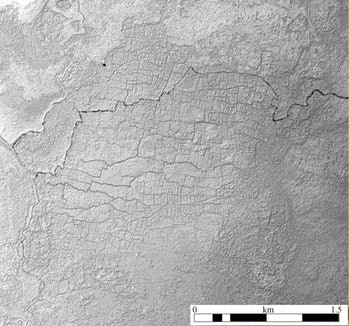 LiDAR revealed intricate networks of canals and terraces for farming crops and harvesting aquatic animals.