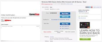 nintendo nes mini ebay