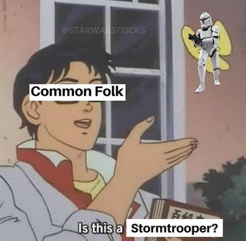 stormtooper piegon meme