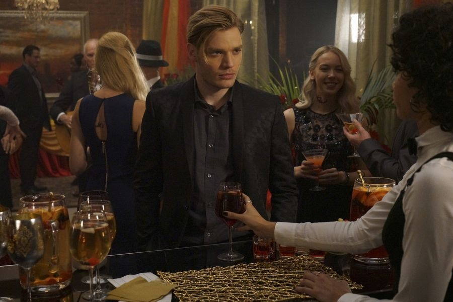 Dominic Sherwood as Jace Wayland in 'Shadowhunters'