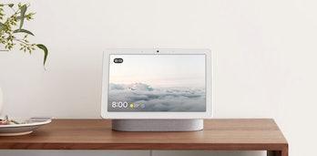 Google Nest Hub Max indicates when it's watching.