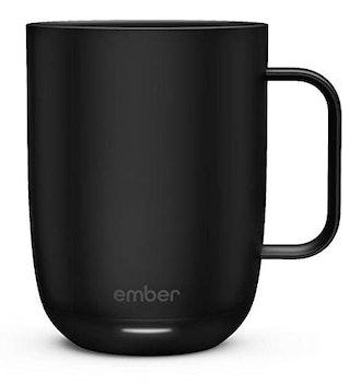 Ember Black Ceramic Temperature Control Mug
