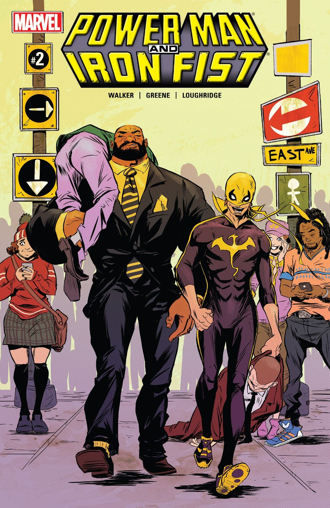 Power Man Iron Fist Netflix Marvel