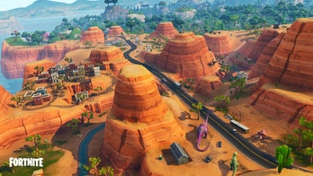 A huge section to the southeast of the 'Fortnite: Battle Royale' map is now desert in Season 5.