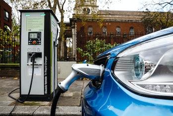 car charging electric vehicle EV port emissions reduction