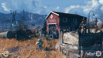 'Fallout 76' camp