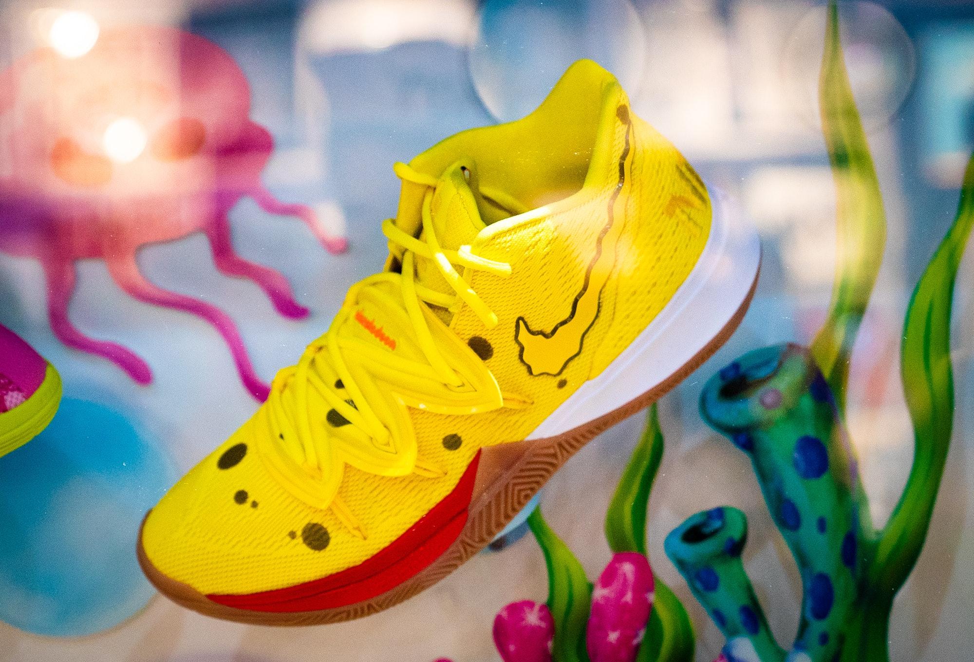 Nike x Spongebob Squarepants Shoe Collaboration SDCC50 2019