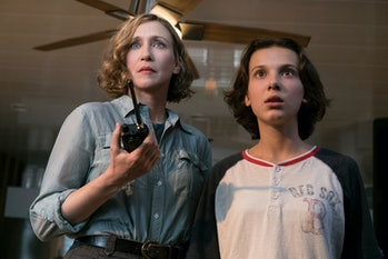 Vera Farmiga and Millie Bobby Brown in 'Godzilla: King of the Monsters'