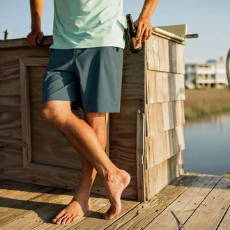"Free FlyBamboo-Lined Hybrid Shorts - 7.5"""