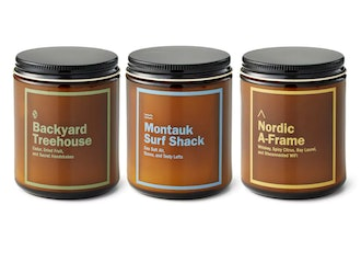 Huckberry Candle Set