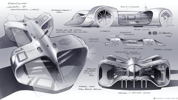 Design sketches for the Robocar.