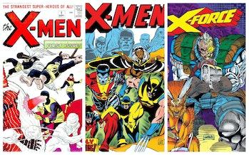 Rob Liefeld New Mutants X-Men