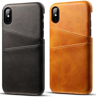 iPhone X Cow Leather Case