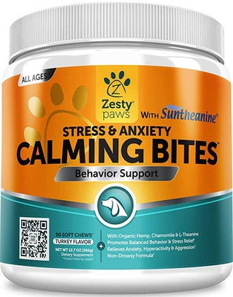 Zesty Paws Stress & Anxiety Calming Bites