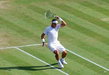 Rafael Nadal hip injury