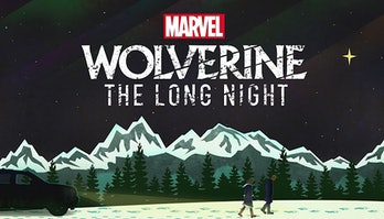 Promo art for 'Wolverine: The Long Night'.